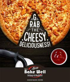 The irresistible taste that everyone craves! Food Design, Food Graphic Design, Food Poster Design, Menu Design, Pizzeria, Pizza Food Truck, Pizza Flyer, Social Design, Creative Pizza