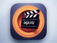 Dribbble - Movies Icon by Webshocker