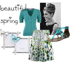 """beautiful spring"" by apostolicpentecostalgirl ❤ liked on Polyvore"