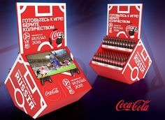 COCA COLA FIFA WORLD CUP POSm 2018 on Behance
