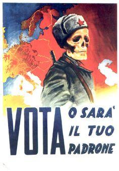 Manifesti elettorali sessant'anni fa