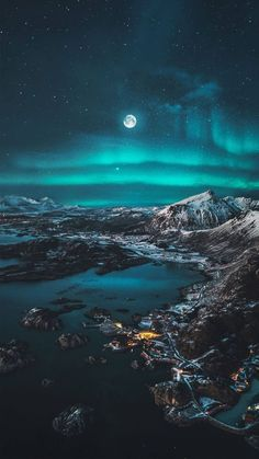 Moon Phone Wallpaper HD Get Best Moon Phone Wallpaper HD Today by paintingeasy.club Travel up north phone wallpaper Northern Lights Wallpaper, Lit Wallpaper, Galaxy Wallpaper, Wallpaper Backgrounds, Iphone Wallpapers, Iphone Backgrounds, Landscape Photography, Nature Photography, Photography Backgrounds