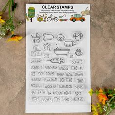 £1.43 - Scrapbook DIY photo cards account rubber stamp clear stamp transparent stamp Baby Feeding bottle baby cart 11x13.5cm KW642623-in Stamps from Office & School Supplies on Aliexpress.com | Alibaba Group