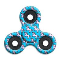 SPINNERS squad fidget toys Unicorn Blue