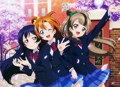 Honoka,Umi and Kotori