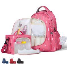 SUNVENO High-Capacity Baby Bag Waterproof Baby Diaper Nappy Bag Backpack Organizer with Small Bag Inside bolsa maternidade Cheap Diaper Bags, Baby Diaper Bags, Diaper Backpack, Diaper Bag Backpack, Travel Backpack, Diaper Bag Brands, Baby Boys, Fashionable Diaper Bags, Baby Doll Nursery