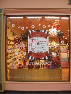 Paper Source Dallas-NorthPark Center! I created this poster for our awesome store window- Go team Northpark!