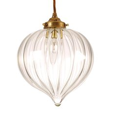 Pendant Lighting | Ava Sparkling Glass Pendant Light | Jim Lawrence