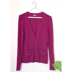 Nordstrom Merino Wool Cardigan Nordstrom Merino Wool Button-up Cardigan by Halogen  DETAILS: T -Deep plum color -V neck with button closure Note: Only worn a couple of times. There is on small thread pull on the sleeve.    SALE ITEMS: if an item is marked sale, this is the lowest price therefore no offers will be accepted. Thanks for looking! Halogen Sweaters Cardigans