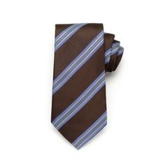 Satin Stripe - Brown