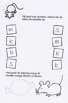 muis zoek dezelfde letters