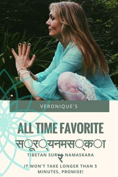 Bhakti-licious : Veronique's all time favourite, lazy day yoga