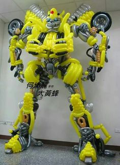 Giant Balloon Transformer - Awesome!