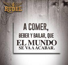 Por eso mejor hay que aprovechar cada minuto como si fuera el último. ¡Lindo viernes! #Rudel #ACadaPaso