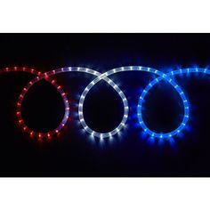 18 red indooroutdoor christmas rope light decoration things i led red white and blue 12 foot long rope light 15 liked aloadofball Image collections