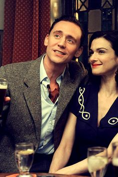 Tom Hiddleston and Rachel Weisz in The Deep Blue Sea.