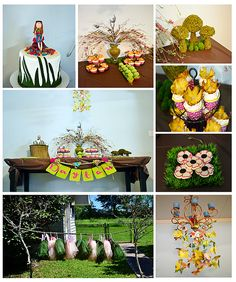 woodland/garden fairy party