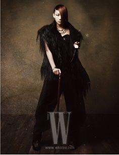 CL from 2NE1 in W Korea magazine #kpop = Fierce Perfection.