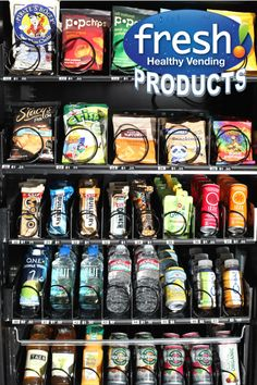 Progressive Products Attract Ohio Franchisees to Fresh Healthy Vending - Fresh Healthy Vending Blog