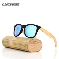 c17e4c8ef78 New Men Women Handmade Bamboo Sunglasses Eyewear Eyeglasses wooden  sunglasses polarized lens
