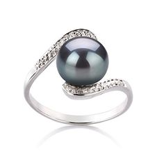 Chantel Black 9-10mm AA Quality Freshwater 925 Sterling Silver Pearl Ring - Size-8 PearlsOnly http://www.amazon.com/dp/B001L53NQ6/ref=cm_sw_r_pi_dp_v6Hswb014XZ29