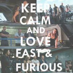 Keep Calm and Love the Fast and Furious wallpaper