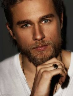 i cant even handle those eyes - Charlie Hunnam