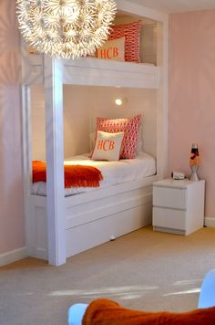 Bunk beds.... Cute built ins