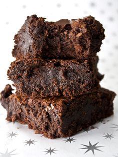 Ounces and Grams | Fudgy Brownies (these brownies look amaaaziiiing)