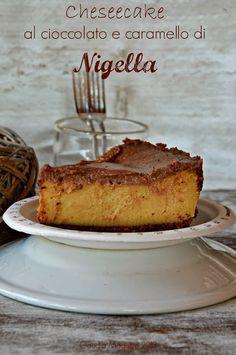 cheesecake al cioccolato e caramello di Nigella