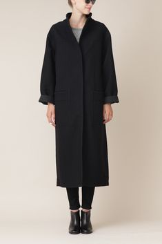 Featuring Pilar Oversized Long Duster