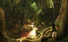 Fairy Tale Backgrounds | Fairy Tale Forest wallpapers and images