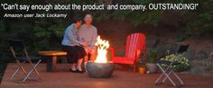 Campfire In A Can - Portable Propane Fire Pit for Backyard & Camping