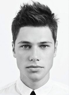 Guys Hairstyles, does anyone else think this is what brad and angelina's son will look like some day!!!!!!!! Her lips, his gorgeousness! YUM :)