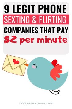 Looking to make money online from home and getting paid for sexting? This post will shoow you can make money sexting on these phone sexting companies hiring now! Work From Home Careers, Legitimate Work From Home, Make Money From Home, Way To Make Money, Money Fast, Free Money, Earn Extra Cash, Extra Money, Earn Money Online