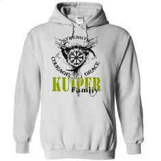 KUIPER Family - Strength Courage Grace - printed t shirts #grey tee #tshirt logo