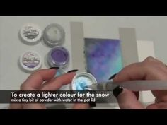 One Layer Card with Magicals from Lindy's Stamp Gang - YouTube