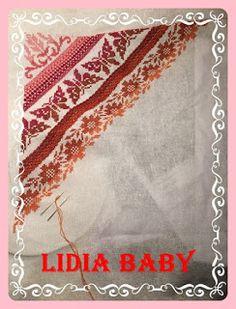 Punto de cruz - Bordando con Lidia