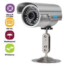 JOOAN 530YRB-T 700TVL Waterproof CCTV Security Camera 36IR Night Vision Outdoor/Indoor Bullet Surveillance No description (Barcode EAN = 0712155184589). http://www.comparestoreprices.co.uk/december-2016-6/jooan-530yrb-t-700tvl-waterproof-cctv-security-camera-36ir-night-vision-outdoor-indoor-bullet-surveillance.asp