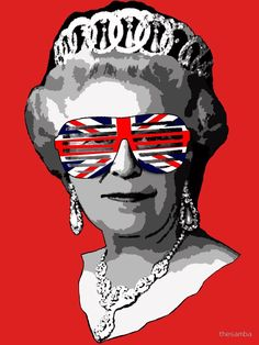 PRINCESS DIANA JUBILEE MR CLEVER POP ART Queen Elizabeth brainwash banksy warhol