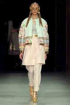 Manish Arora Spring 2013 Ready-to-Wear Collection Slideshow on Style.com
