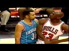 finest selection ef9b0 c407f Michael JORDAN vs Stephen CURRY s Dad Dell CURRY! (MJ 43 Points  amp  Game