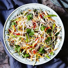 Cold Chinese Summer Noodles