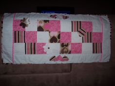 A table runner made for Sarah
