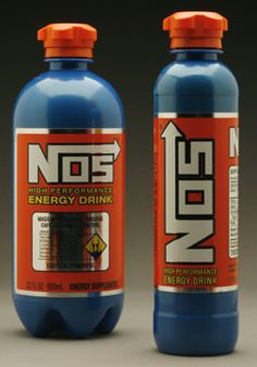 NOS - Dangerous Levels of Caffeine - Highly popular Energy Drink