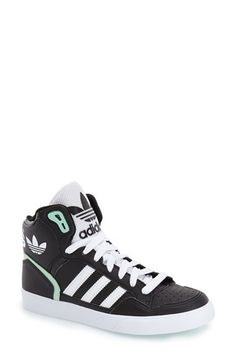 innovative design 72576 1a181 Free shipping and returns on adidas Extaball High Top Sneaker (Women) at