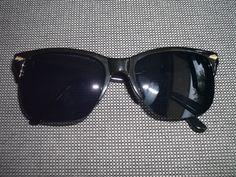 Retro Sunglasses Style Glasses black óculos de sol 50s 60s 70s Design n.2