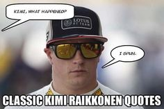 Kimi Raikkonen: Damn that deadpan humour and me for liking it more than I should be
