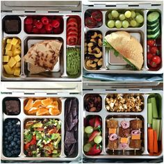 School Lunch Inspiration – Over 20 Lunchbox Ideas  – I'm not a kid, but I want these school lunches too!