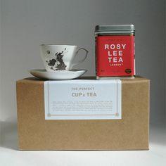 Rosy tea for my Devon!